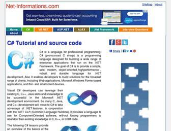 csharp.net-informations.com screenshot