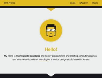 mrt-prodz.com screenshot