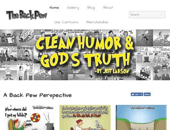 thebackpew.com screenshot