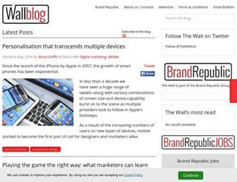 Thumbshot of Wallblog.co.uk