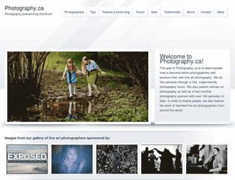 Thumbshot of Photography.ca