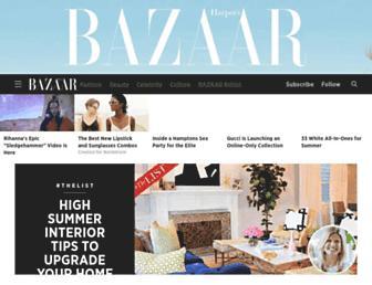 Thumbshot of Harpersbazaar.com