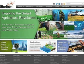 libelium.com screenshot