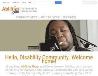 abilities.com screenshot