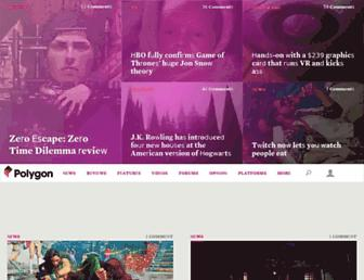 polygon.com screenshot