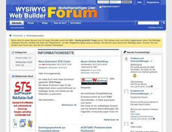 wysiwygwebbuilder.de screenshot