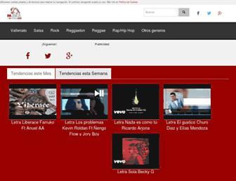 musicayletras.co screenshot