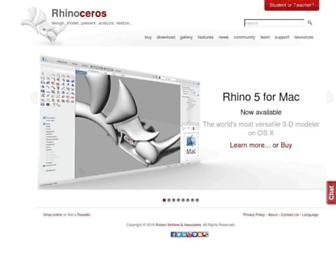 rhino3d.com screenshot