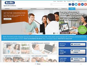 Fullscreen thumbnail of berlitz.us
