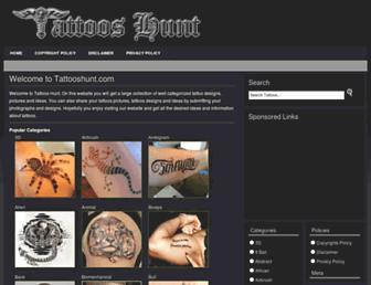tattooshunt.com screenshot