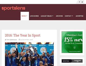 sportslens.com screenshot