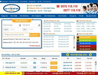 dailysimsodep.com.vn screenshot