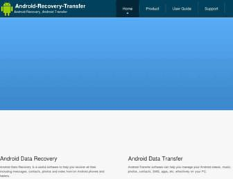 android-recovery-transfer.com screenshot