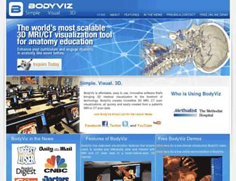 bodyviz.com screenshot