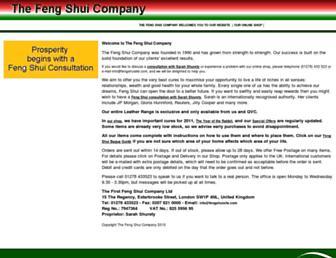 fengshuisite.com screenshot