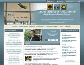 fortschools.org screenshot