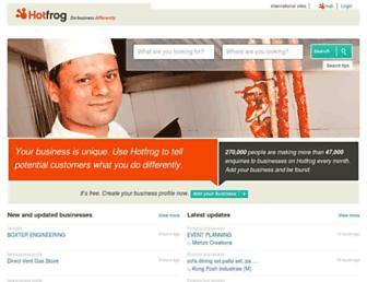 hotfrog.com.my screenshot
