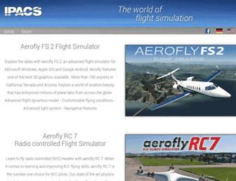 aerofly.com screenshot