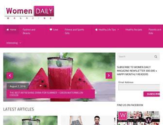 Thumbshot of Womendailymagazine.com
