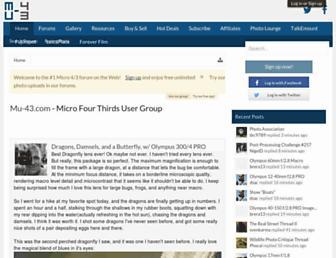 Thumbshot of Mu-43.com