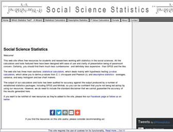 Thumbshot of Socscistatistics.com