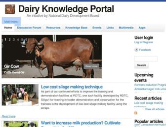 dairyknowledge.in screenshot