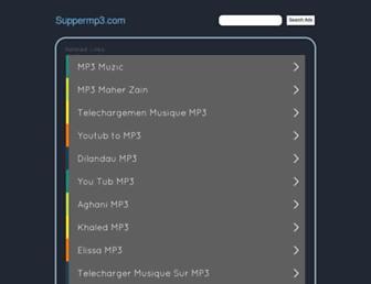 suppermp3.com screenshot