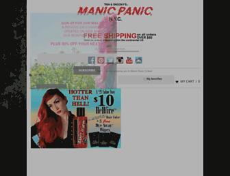 manicpanic.com screenshot