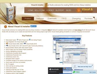 visual-installer.com screenshot