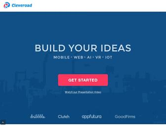 cleveroad.com screenshot