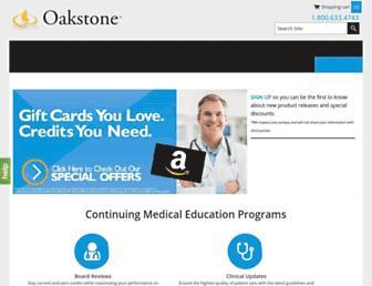 oakstone.com screenshot