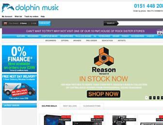 Thumbshot of Dolphinmusic.co.uk