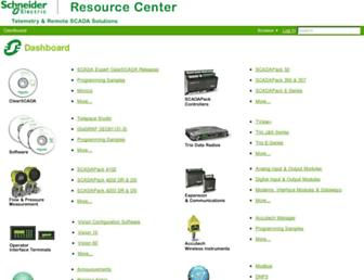 resourcecenter.controlmicrosystems.com screenshot