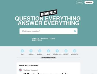 brainly.ph screenshot