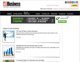 Thumbshot of Allbusiness.com