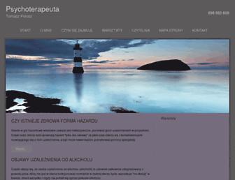 Fullscreen thumbnail of psycho-terapeuta.warszawa.pl