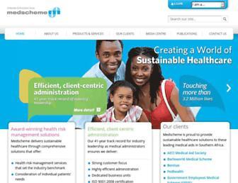 Thumbshot of Medscheme.co.za