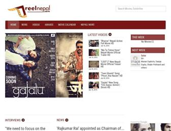reelnepal.com screenshot