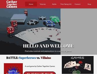 gathertogethergames.com screenshot