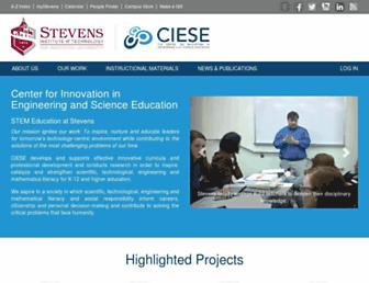 ciese.org screenshot