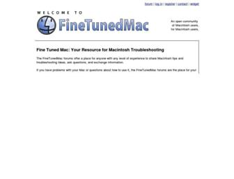 finetunedmac.com screenshot