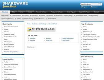 any-dvd-shrink.sharewarejunction.com screenshot