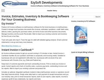 ezysoft-dev.com screenshot