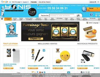 Thumbshot of Yonis-shop.com