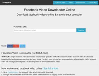 getfbstuff.com screenshot