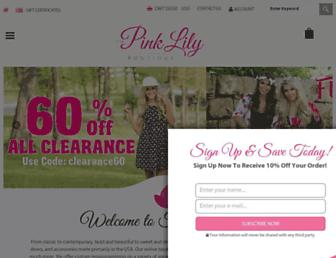 Thumbshot of Thepinklilyboutique.com