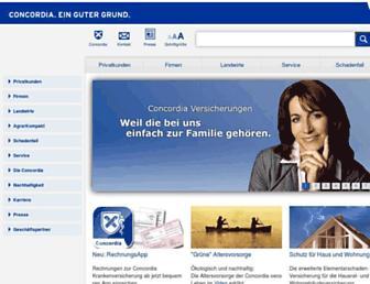 Fullscreen thumbnail of concordia.de