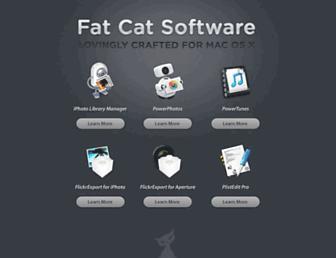 fatcatsoftware.com screenshot