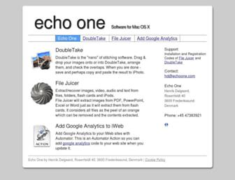 echoone.com screenshot