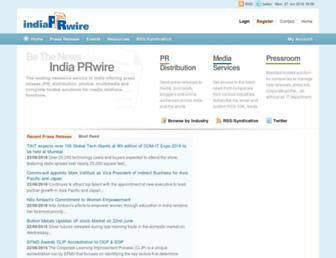 indiaprwire.com screenshot